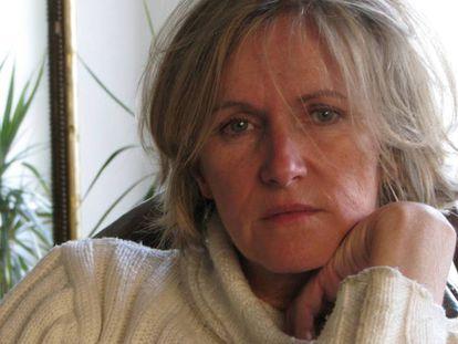 A escritora francesa Anne Bert