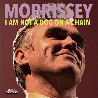 Capa de 'I Am Not A Dog On A Chain', de Morrissey.