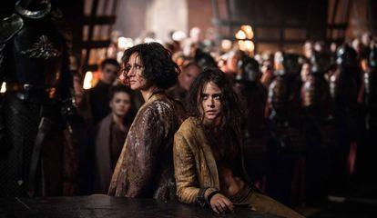 As Serpentes da Areia, prisioneiras em King's Landing.