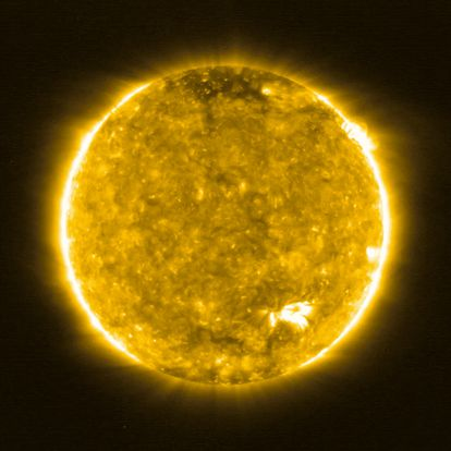 A imagem mais próxima já feita do Sol.