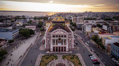 O teatro da ópera de Manaus foi inaugurado em 1896