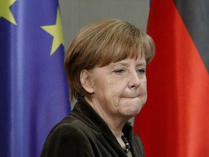 Angela Merkel, em Berlim.