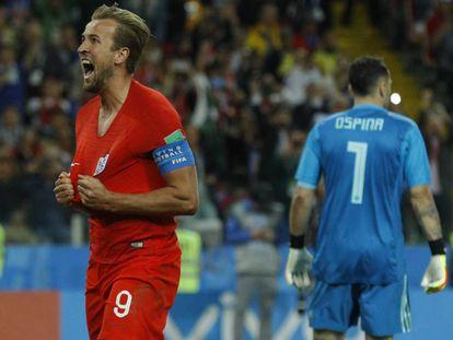 Kane marcou o gol da Inglaterra no tempo normal.