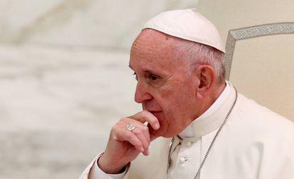 O papa Francisco, no Vaticano, no final de novembro.