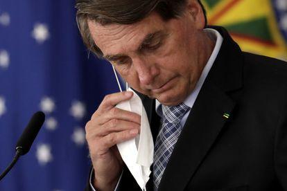 O presidente Jair Bolsonaro durante evento no Palácio do Planalto no dia 10 de março.