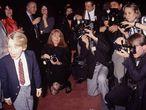 Macaulay Culkin, con 10 años, en un evento celebrado en 1990, año en que rodó 'Solo en casa'. La película se convirtió en la tercera más taquillera hasta aquel momento (tras E. T. y La guerra de las galaxias).