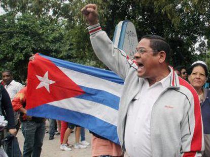 Ativistas detidos em Cuba no Dia dos Direitos Humanos.