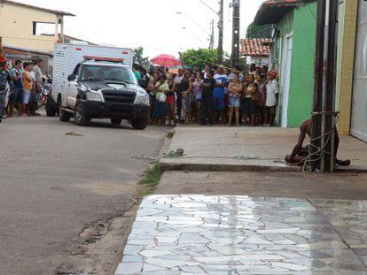 Cleidenilson da Silva morreu linchado no Maranhão.