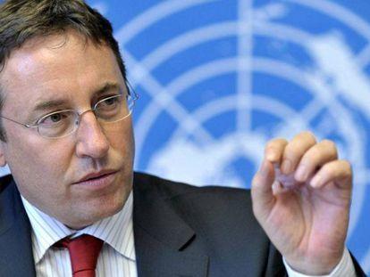 Achim Steiner, administrador do Programa das Nações Unidas para o Desenvolvimento.