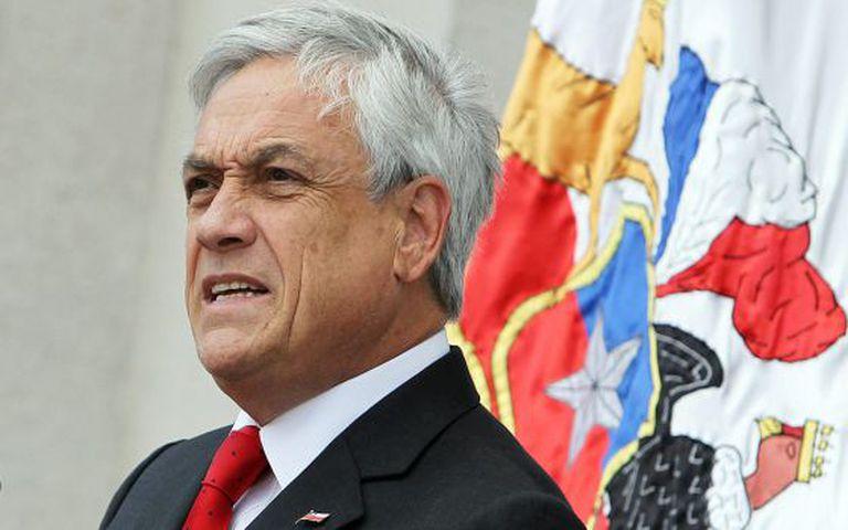 O presidente do Chile, Sebastián Piñera.