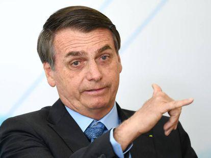 O presidente brasileiro Jair Bolsonaro.