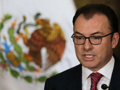 O ministro da Economia mexicano, Luis Videgaray.