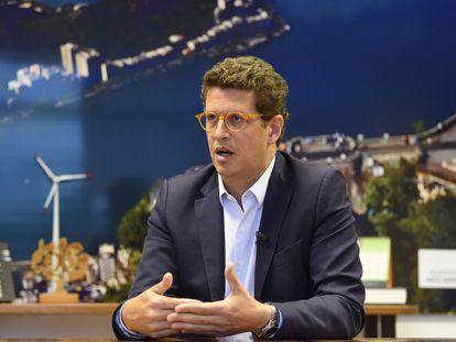 O ministro Ricardo Salles no dia 16, em Brasília.