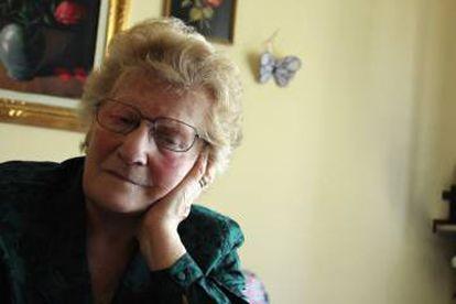 Romana Blasotti Pavesi, em seu pequeno apartamento na cidade italiana de Casale Monferrato, em imagem de 2012, quando ela ainda não tinha começado a esquecer.
