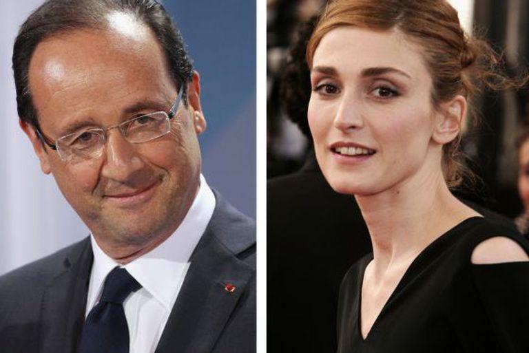 François Hollande e Julie Gayet.