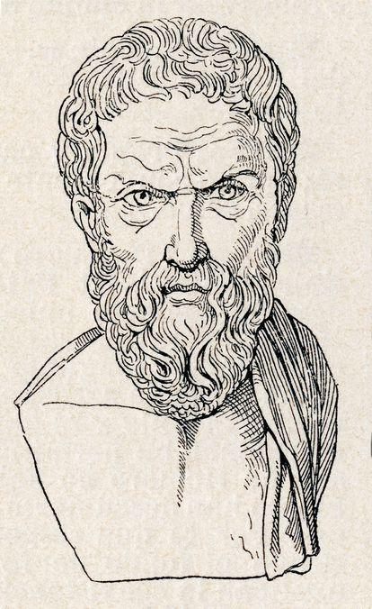 Epicuro, aquele que nos ensinou que você pode se divertir, mas sem exagerar.