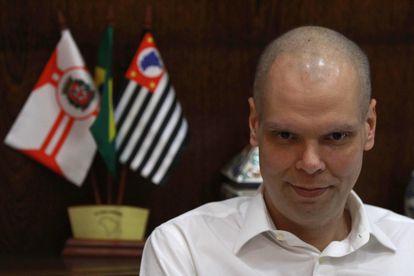 O prefeito de São Paulo, Bruno Covas, em maio do ano passado.