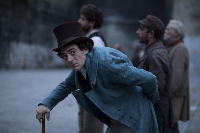 Cena do filme 'Il Giovane Favoloso', da mostra italiana.