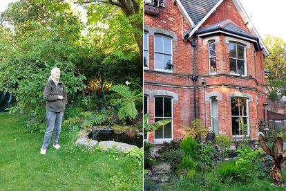 A ativista passou o confinamento em sua casa familiar da costa britânica.