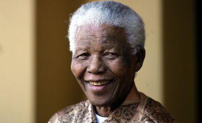 Nelson Mandela, em junho de 2005.