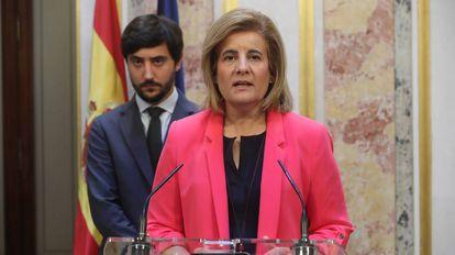 Fátima Báñez, ministra do Emprego na Espanha