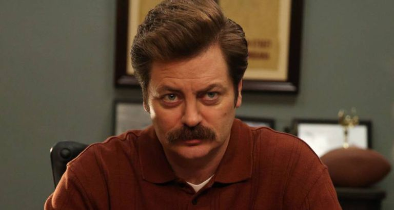 Ron Swanson volta a trabalhar ('Parks and Recreation')