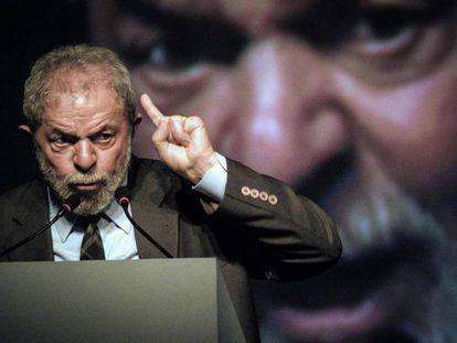 Lula, no Rio, na última terça-feira.