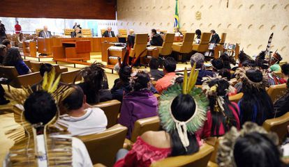 Indígenas acompanham julgamento no Supremo Tribunal Federal sobre Parque Nacional do Xingu e reservas indígenas no Mato Grosso