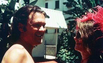 Kris Kristofferson e Janis Joplin em uma imagem de 1970.