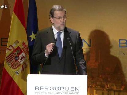 O presidente do Gobierno de España, Mariano Rajoy.