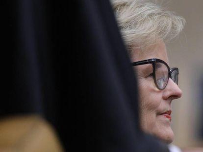 Rosa Weber na sessão do STF que rejeitou o 'habeas corpus' de Lula.
