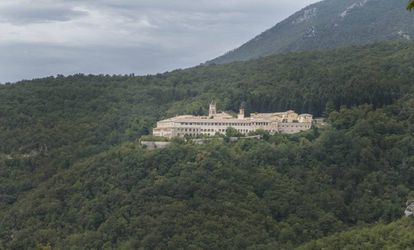 O mosteiro de Trisulti, sede da Academia do Ocidente judaico-cristão.