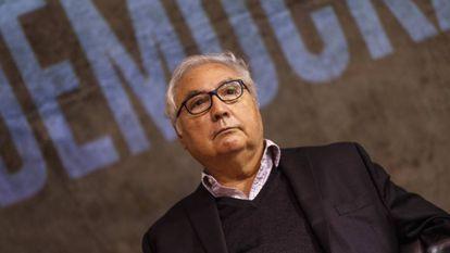 Manuel Castells, em junho passado no Brasil.