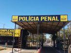 Fachada do complexo Prisional de Aparecida de Goiânia.