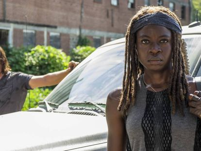 'The Walking Dead', uma série zumbi