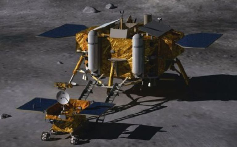 Protótipo da Chang E3, a terceira sonda a ser lançada pela China