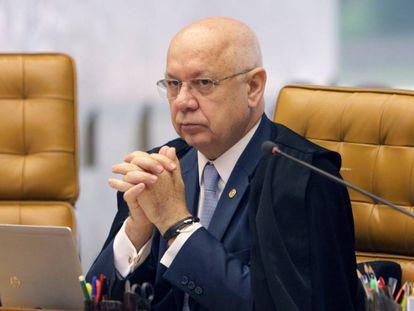 O ministro Teori Zavascki.