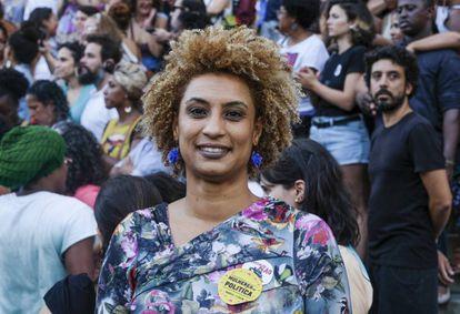 A vereadora Marielle Franco.
