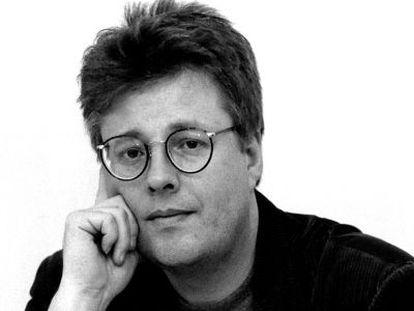 Foto de arquivo do escritor sueco Stieg Larsson, autor da trilogía Millennium.