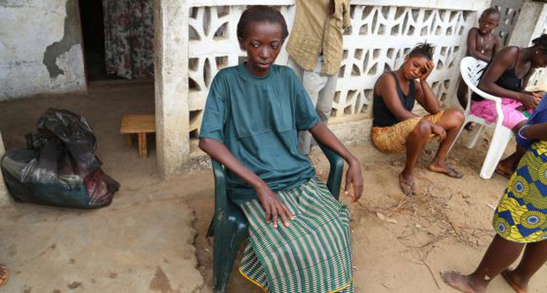 Adama venceu a batalha contra o ebola em Serra Leoa.