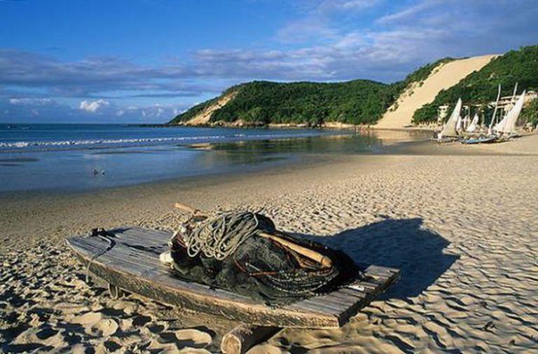 Praia em Natal, no Rio Grande do Norte.