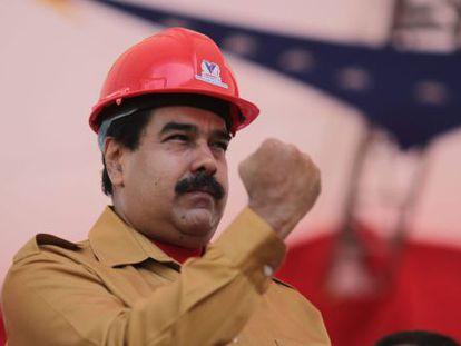 Nicolás Maduro, durante um evento do Governo.