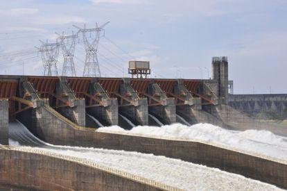 Hidrelétrica de Itaipu, a maior da América Latina.