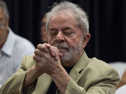 Lula, em foto de março deste ano.