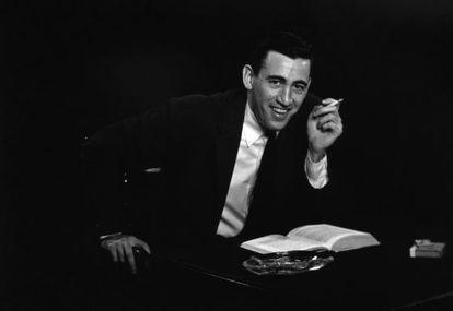 Retrato de J. D. Salinger feito por Anthony Dei Gesu em Nova York, em 1952.