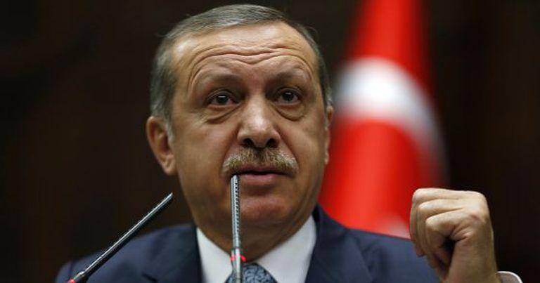 O primeiro-ministro turco, Tayyip Erdogan, em 25 de fevereiro.