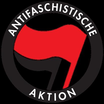 Bandeira antifascista.