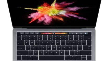 MacBook Pro, computadores com funções táteis