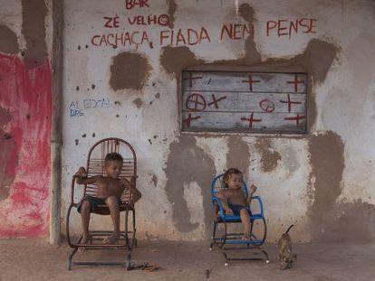 Crianças em Alto Alegre do Pindaré (MA).