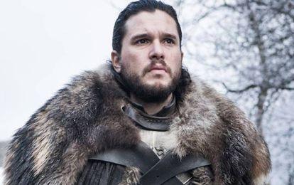 Kit Harington, no papel de Jon Snow, em uma imagem da oitava temporada de 'Game of Thrones'.